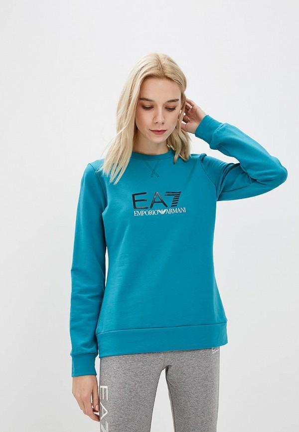 Свитшот EA7 EA7 EA002EWBODW5 пуховик ea7 ea7 ea002emuee50