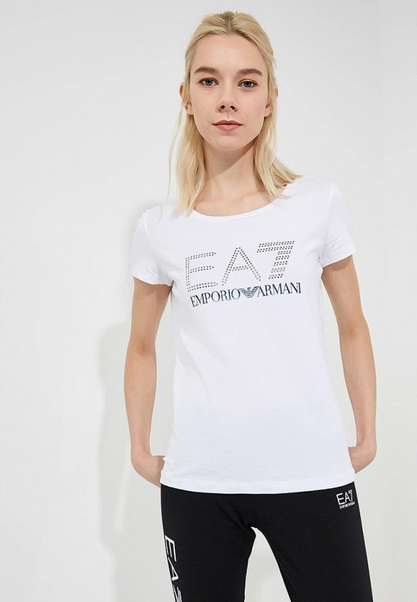 Футболка EA7 EA7 EA002EWBODX4 шарф ea7 285543 7a393 00010