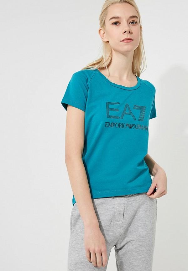 Футболка EA7 EA7 EA002EWBODY0 футболка ea7 ea7 ea002ewbody1