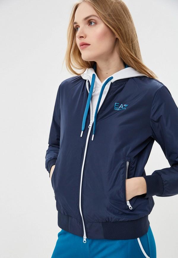 Куртка утепленная EA7 EA7 EA002EWDQYB1 пуловер ea7 ea7 ea002emeitq5