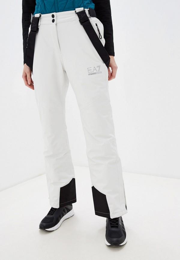 женские брюки ea7, белые