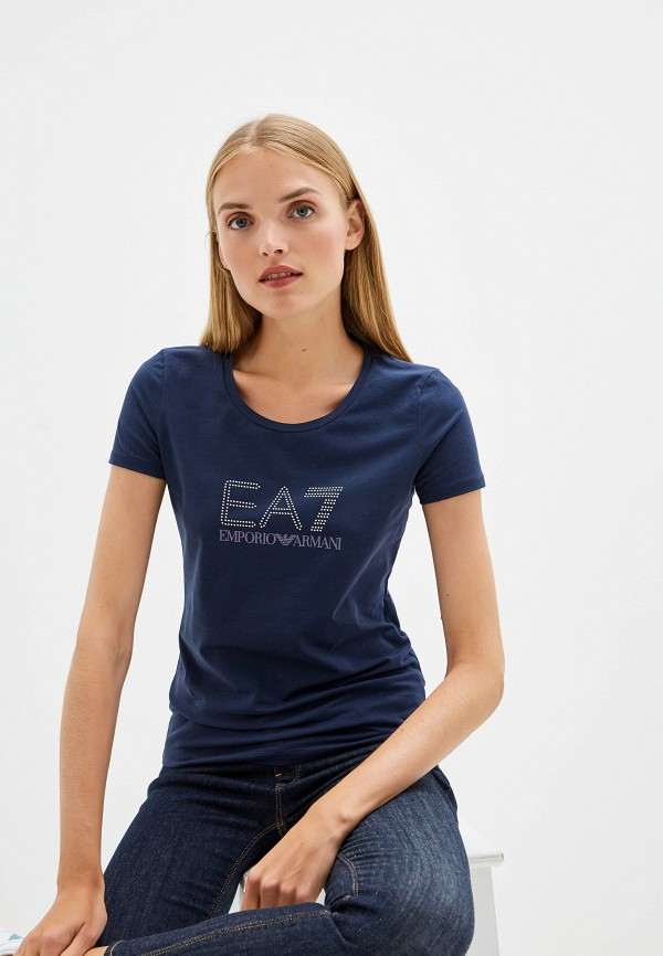 Футболка EA7 EA7 EA002EWFXGI5 футболка ea7 ea7 ea002emdqxo1