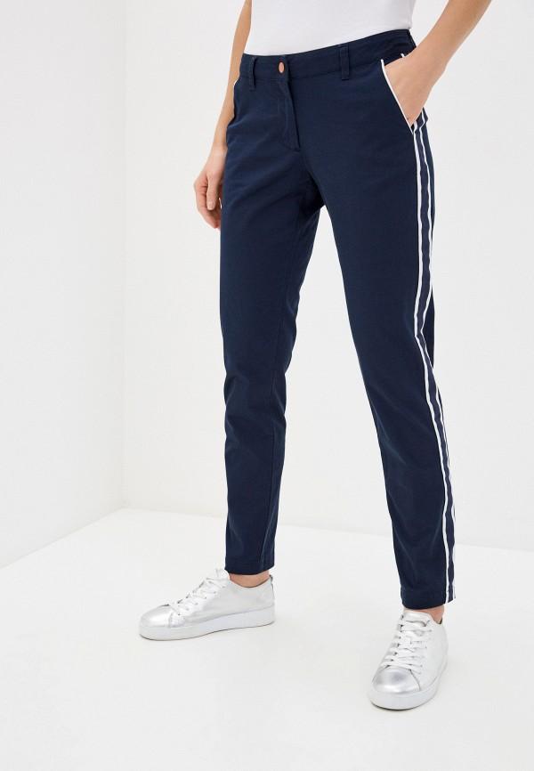 женские повседневные брюки ea7, синие
