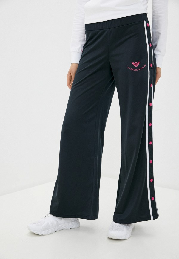 женские спортивные брюки ea7, черные