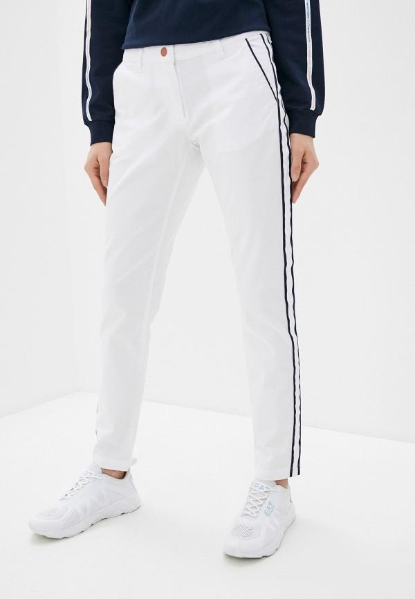 женские повседневные брюки ea7, белые