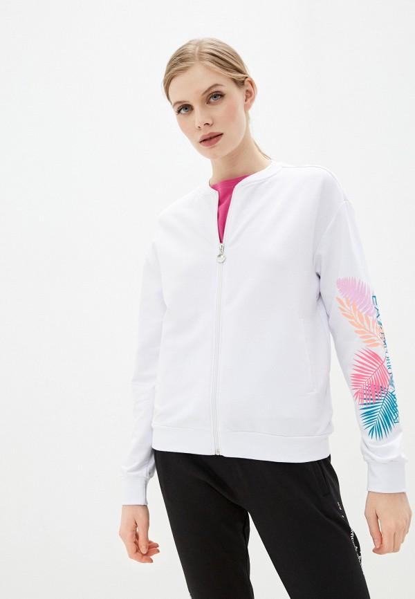 женская олимпийка ea7, белая