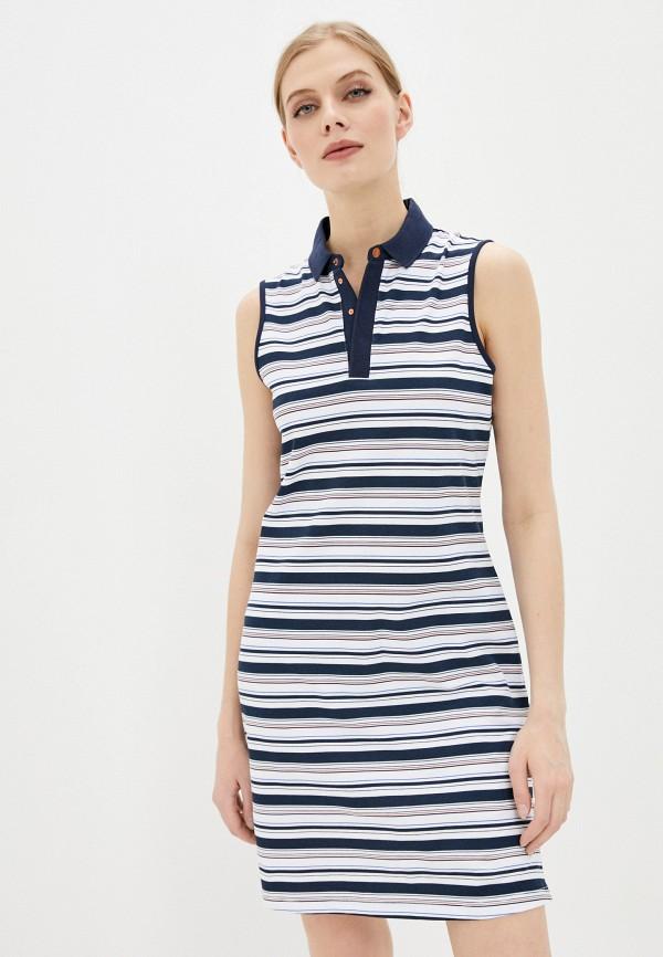 женское платье ea7, белое