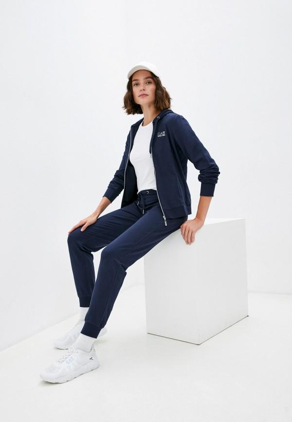 женский спортивный костюм ea7, синий