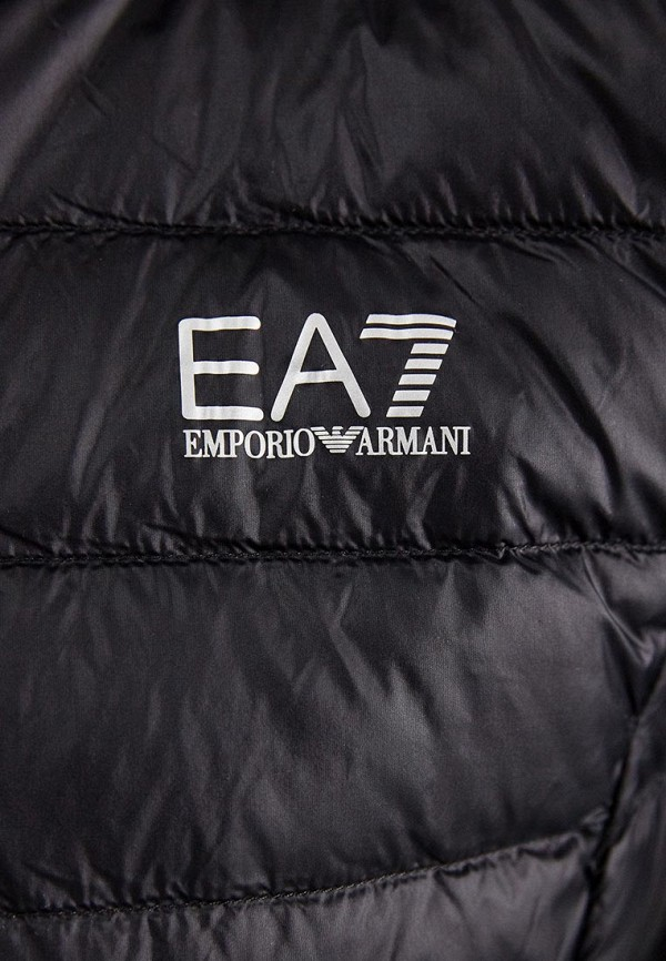 Фото 4 - Пуховик EA7 черного цвета