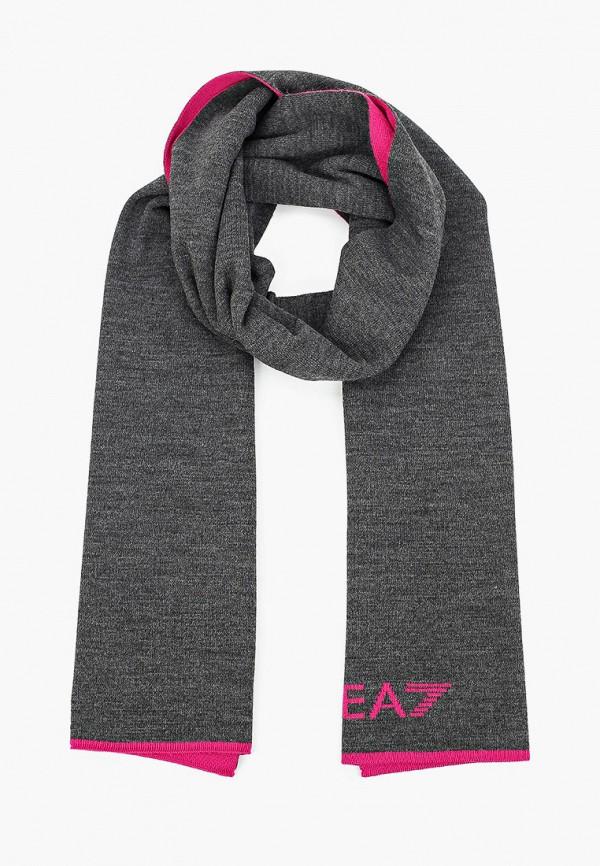 женский шарф ea7, разноцветный