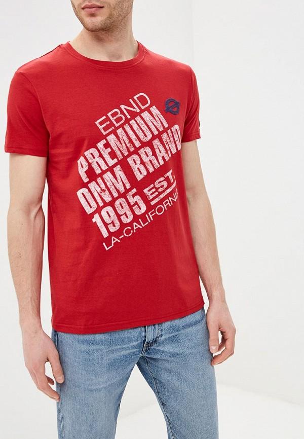 мужская футболка с коротким рукавом e-bound, красная