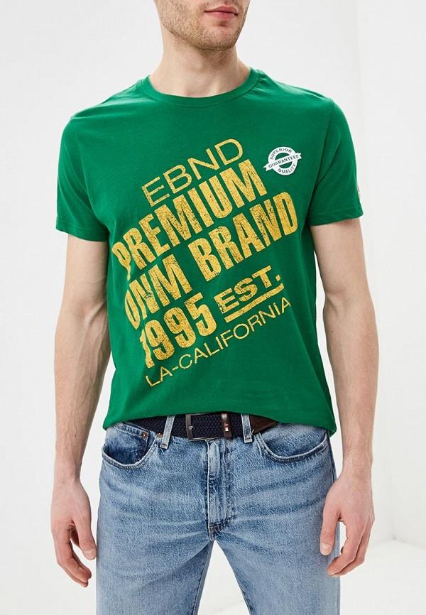 мужская футболка с коротким рукавом e-bound, зеленая