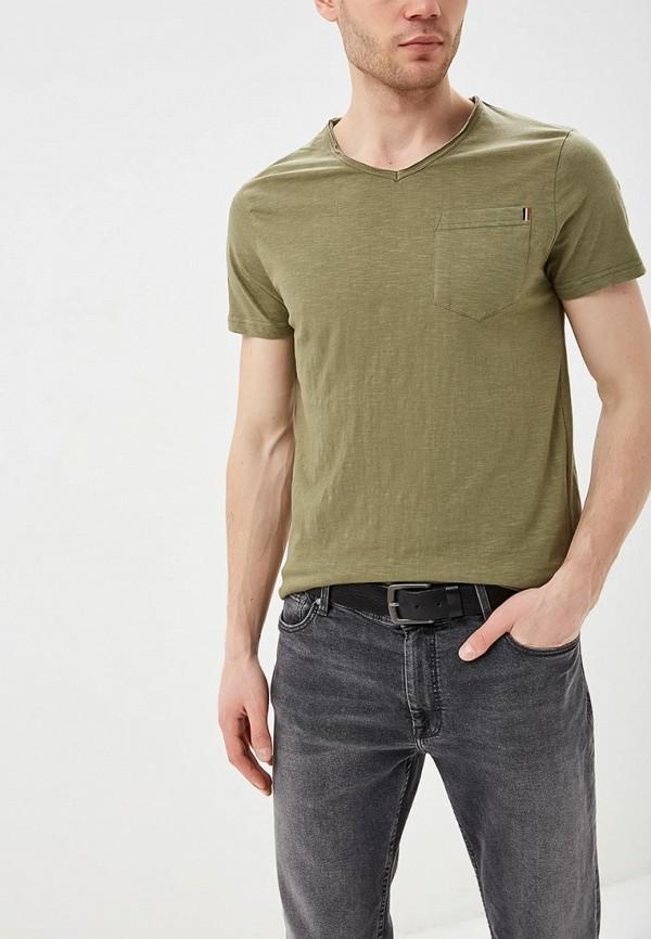 мужская футболка с коротким рукавом e-bound, хаки