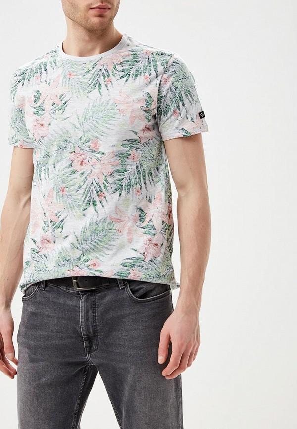 мужская футболка с коротким рукавом e-bound, серая