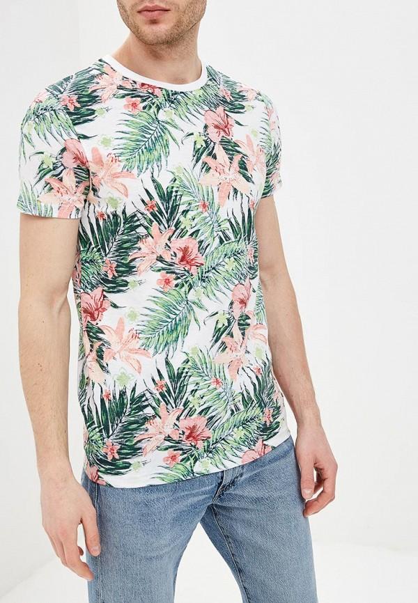 мужская футболка с коротким рукавом e-bound, белая