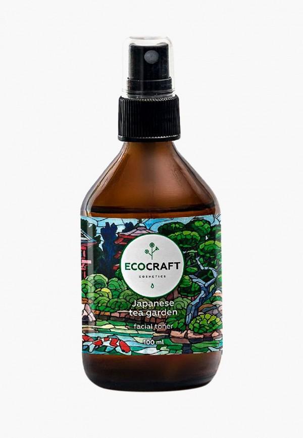 Купить Тоник для лица Ecocraft, для зрелой кожи Japanese tea garden , 100 мл, EC007LWCWJK3, прозрачный, Осень-зима 2018/2019