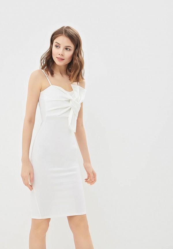 женское вечерние платье edge street, белое