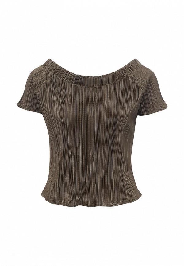 женская блузка edge street, золотая
