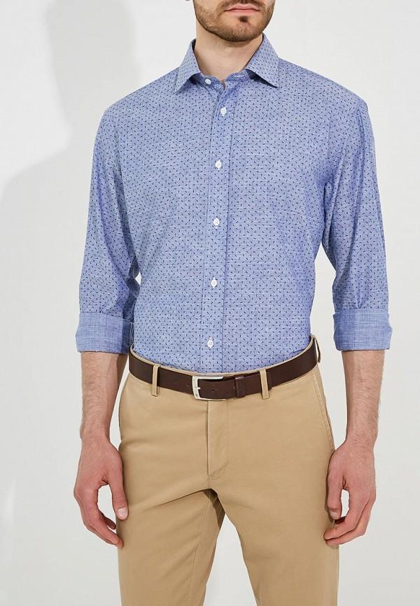 Купить Мужскую рубашку Eden Park синего цвета