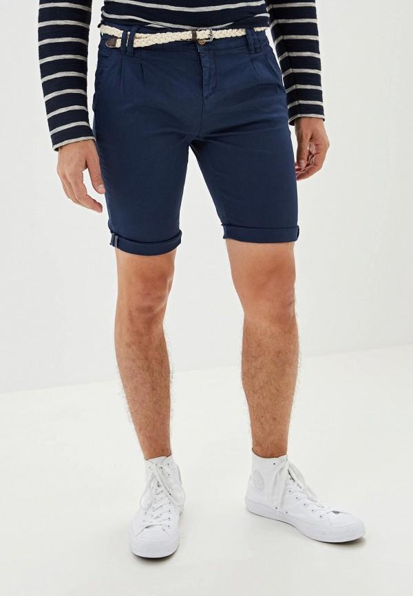 мужские повседневные шорты eight2nine, синие