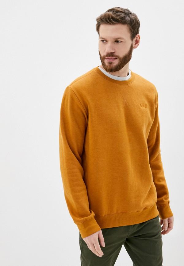 мужской свитшот eight2nine, оранжевый