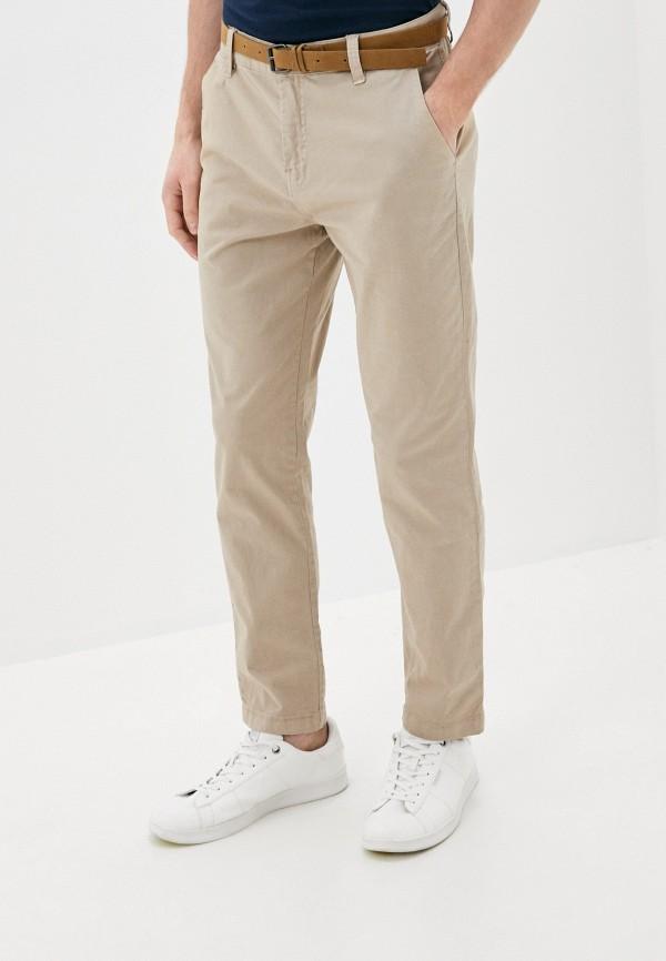 мужские повседневные брюки eight2nine, бежевые