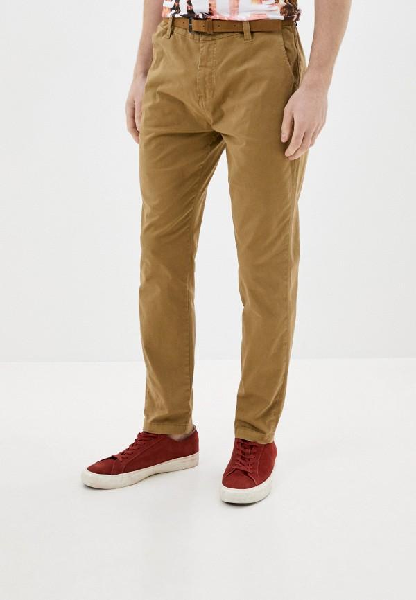 мужские брюки чинос eight2nine, бежевые