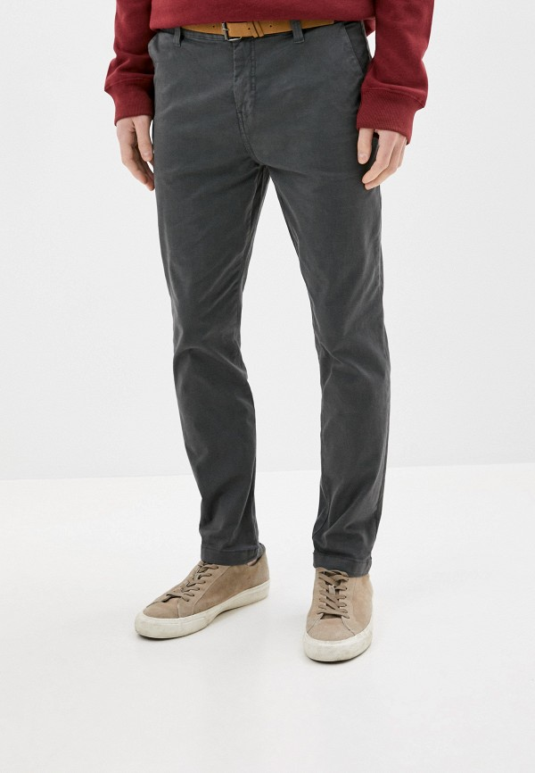 мужские повседневные брюки eight2nine, серые