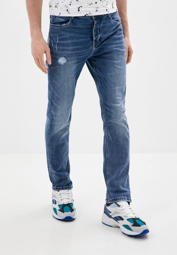 мужские зауженные джинсы eight2nine, синие