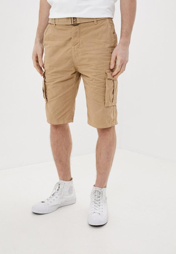 мужские повседневные шорты eight2nine, бежевые