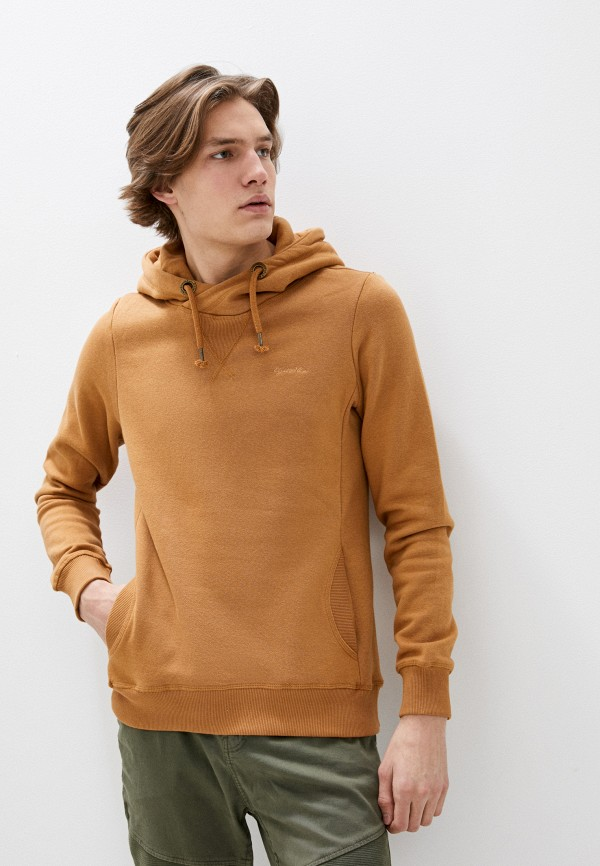 мужские худи eight2nine, коричневые