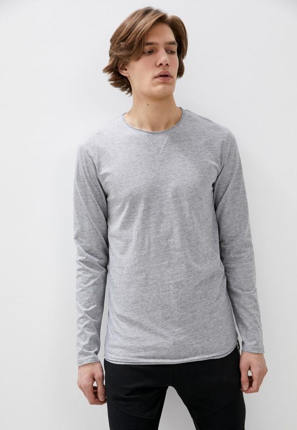 мужской лонгслив eight2nine, серый
