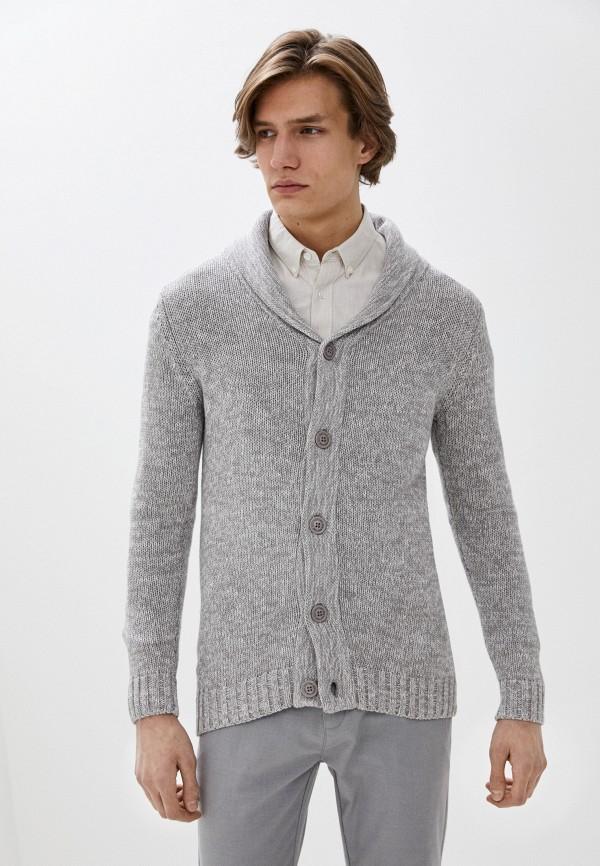 мужской кардиган eight2nine, серый