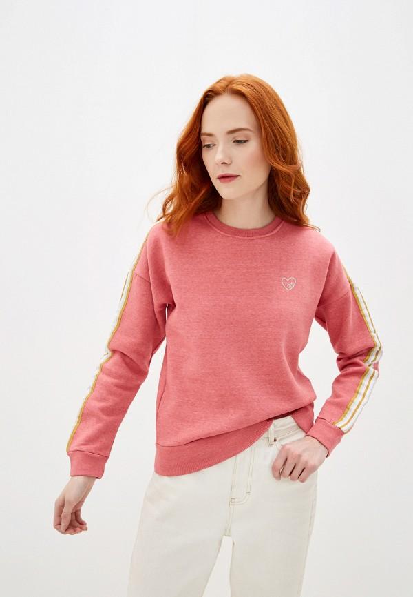 женский свитшот eight2nine, розовый