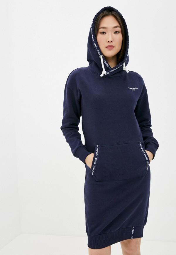 женское платье eight2nine, синее
