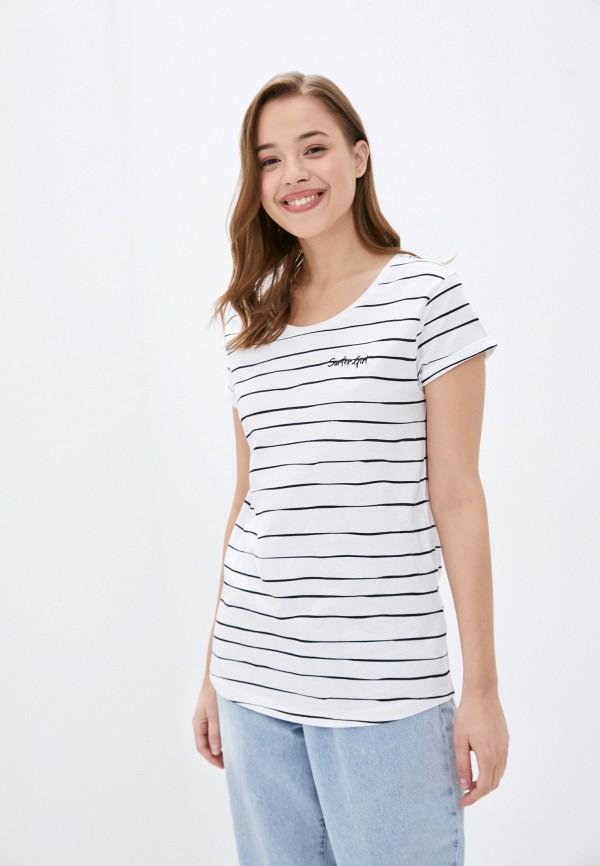 женская футболка eight2nine, белая