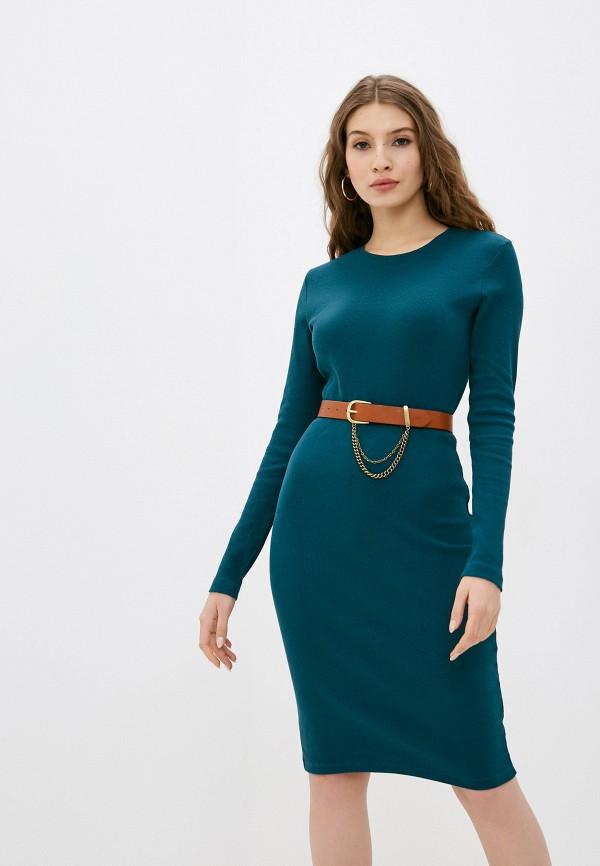 женское повседневные платье eight2nine, зеленое