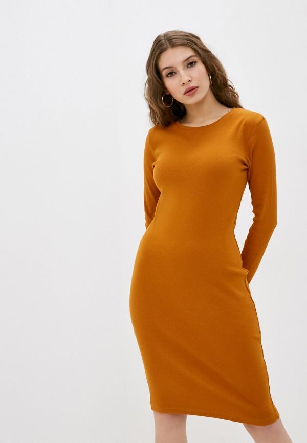 женское повседневные платье eight2nine, оранжевое