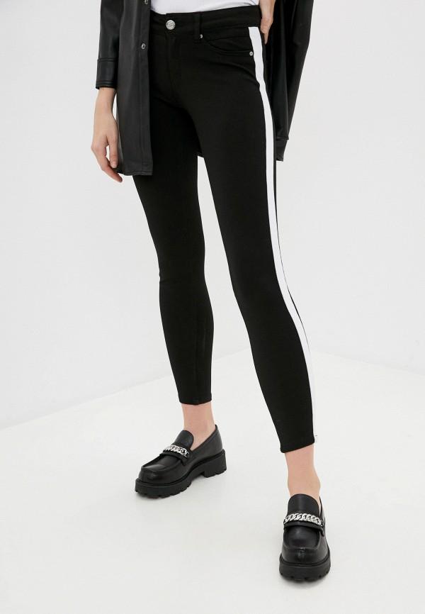 женские повседневные брюки eight2nine, черные
