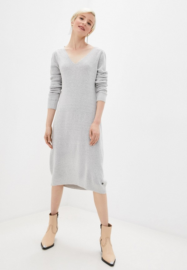женское платье eight2nine, серое