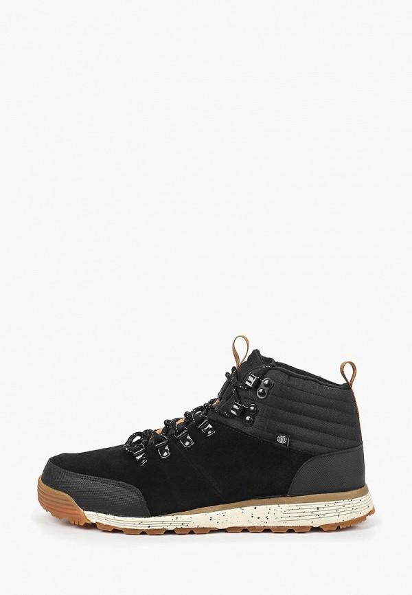 мужские ботинки element, черные