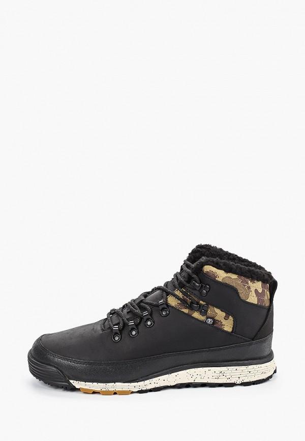 мужские кроссовки element, черные