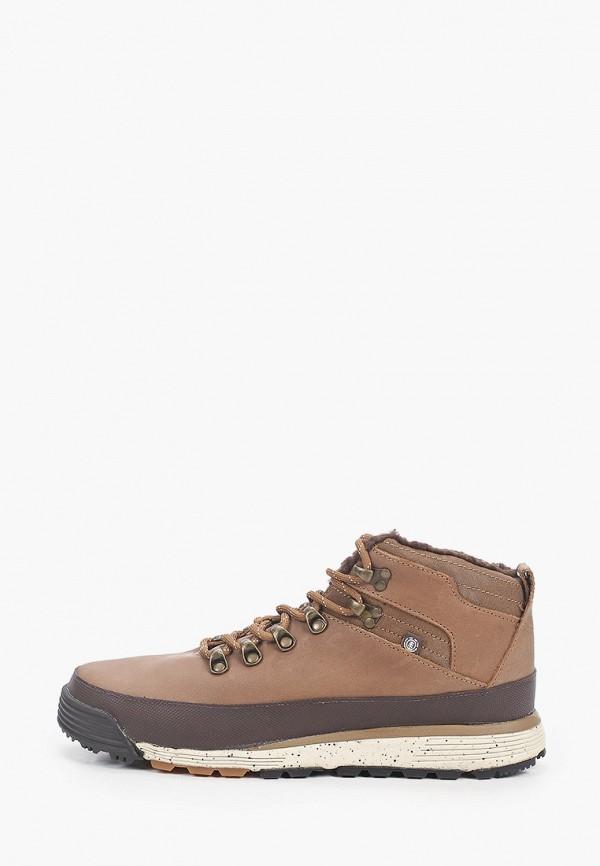 мужские ботинки element, коричневые