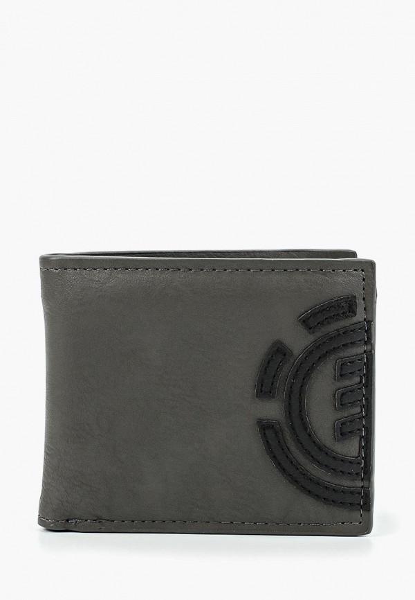 мужской кошелёк element, серый