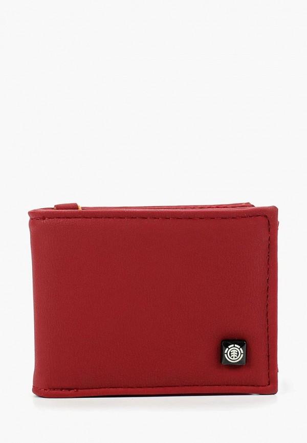 мужской кошелёк element, бордовый