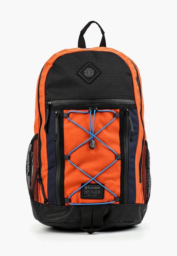 мужской рюкзак element, оранжевый