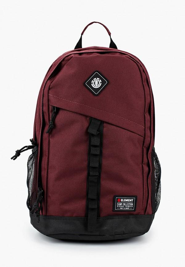 мужской рюкзак element, бордовый