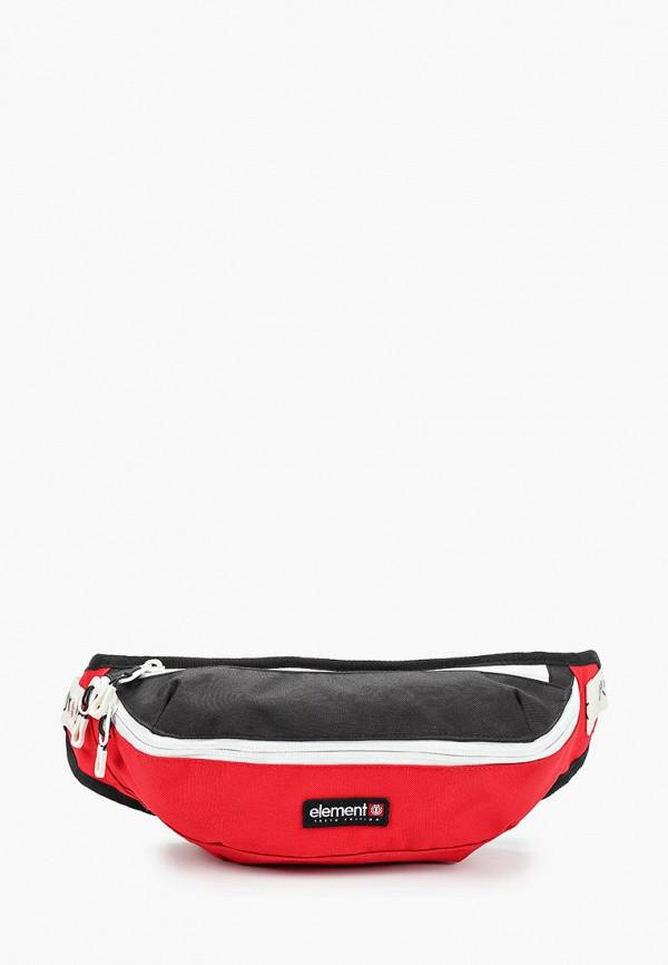 мужская сумка element, красная