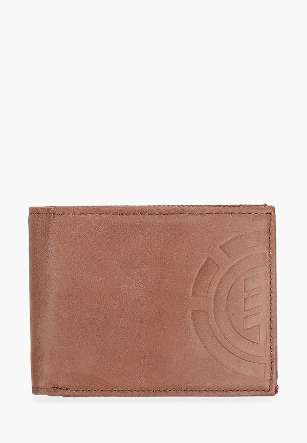 мужской кошелёк element, коричневый