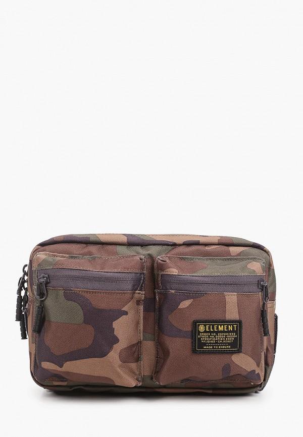 мужская сумка element, коричневая